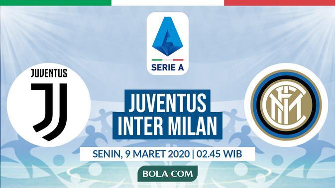 Link Live Streaming Juventus Vs Inter Milan Di Vidio Premier Bola Liputan6 Com
