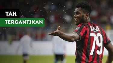 Peran Franck Kessie tak tergantikan di lini tengah AC Milan.