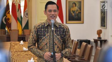 Jokowi dan AHY Gelar Pertemuan Tertutup di Istana Bogor