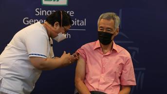 PM Singapura Lee Hsien Loong Disuntik Booster Vaksin COVID-19