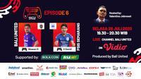 Bali Virtual Island Cup 2020 episode Wawan Hendrawan Vs Septian David. (Sumber: Vidio)