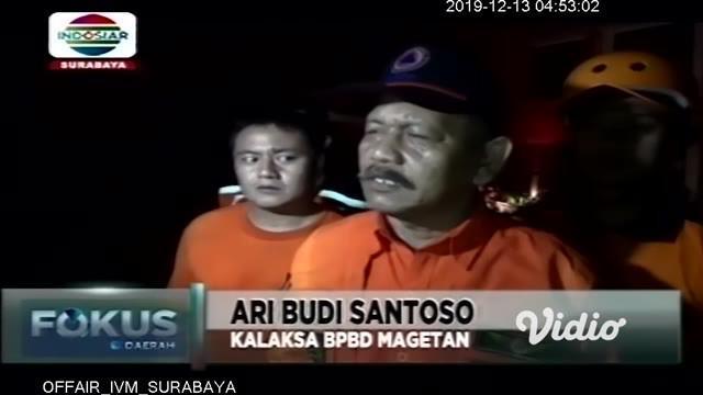 Dahsyatnya hembusan angin yang menerjang wilayah Magetan, Jawa Timur, Rabu sore membuat ratusan rumah, sekolah dasar, dan sejumlah fasilitas umum di empat kecamatan rusak.
