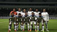 Skuat PSIM saat menang 1-0 atas tuan rumah Persiba Balikpapan di Stadion Batakan, Balikpapan (22/6/2019). (Bola.com/Dok. Media officer PSIM)