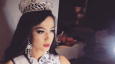 Puteri Indonesia 2017, Syella Afsari. (Photo: Instagram Syella Afsari)
