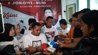 Ketua Koordinator Nasional Relawan JOSS Akbar Setiawan (Muhammad Genantan Saputra/Merdeka.com)