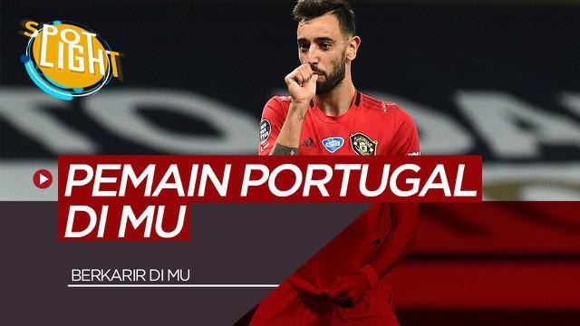 Berita Video Spotlight Bruno Fernandes dan 4 Pemain Asal Portugal yang Berkarir di Manchester United