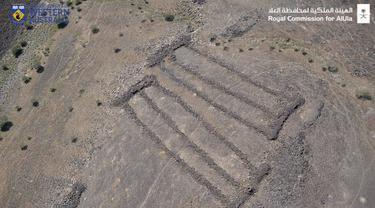 Mustatil di Arab Saudi.