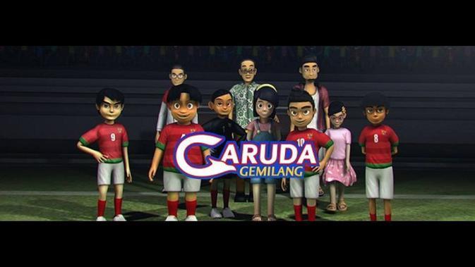 Trailer Garuda Gemilang Serial Kartun Sepak Bola Segera Tayang Di