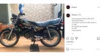 Yamaha RX-King dibandrol lebih mahal daripada mobil LCGC baru (Instagram @bisaboy)