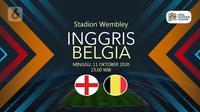 Inggris vs Belgia (Liputan6.com/Abdillah)