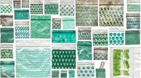 Mengumpulkan sampah kantong plastik obat untuk tindakan perang melawan narkoba, kini menjadi karya seni