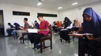 Universitas Muhammadiyah Malang (UMM) menggelar tes tulis bagi 2.756 calon mahasiswa baru (camaba) jalur reguler gelombang I