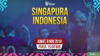 Piala AFF 2018 Singapura Vs Indonesia_2 (Bola.com/Adreanus Titus)
