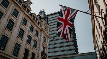 Ilustrasi bendera Inggris (unsplash)