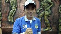 Seto Nurdiyantoro resmi kembali melatih PSIM Yogyakarta. (Bola.com/Vincentius Atmaja)