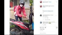 Bagasi Honda BeAT Disulap Jadi Wastafel (@agoez_bandz4/ Instagram)