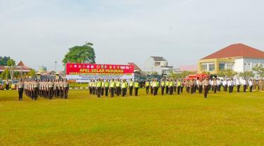 Personel TNI-Polri gelar Operasi Ketupat untuk peniadaan mudik lebaran.