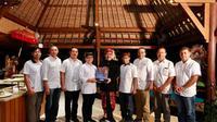 Kunjungan Bupati Banyuwangi Azwar Anas ke Bali pada 14-16 Februari 2020.