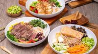 Bagi pemula dan masyarakat urban yang aktif bisa menikmati pilihan salad dengan protein  tinggi yang sehat dan lezat. (Foto: Dok. Saladstop!)