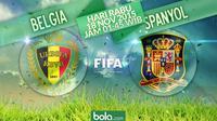 Belgia vs Spanyol (Bola.com/Samsul Hadi)