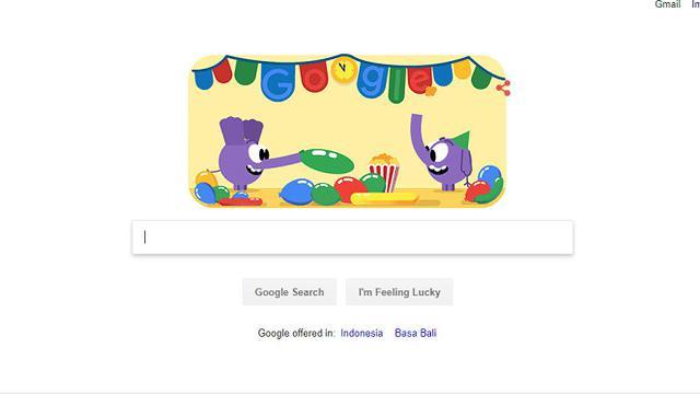 Google Doodle Sambut Malam Tahun Baru 2019 Dengan Animasi