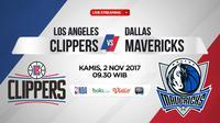 LA Clippers Vs Dallas (Bola.com/Adreanus Titus)