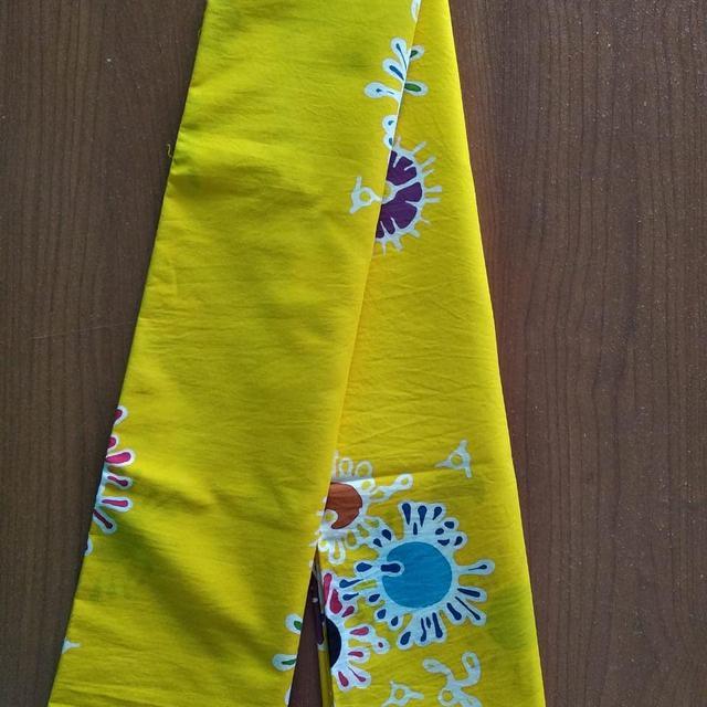 Batik Motif Corona karya Difabel Blora Mustika