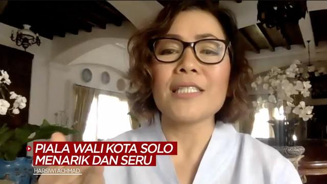 Berita video Piala Wali Kota Solo akan tetap seru dan menarik seperti Piala Menpora disaksikan dari rumah saja menurut Direktur Programming SCM, Harsiwi Achmad.