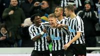 7. Newcastle United (St James' Park) – 51.121 penonton. (AFP/Lindsey Parnaby)