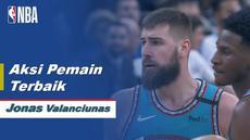 Aksi-Aksi Terbaik Jonas Valanciunas saat Memphis Grizzlies kalahkan Golden State Warriors 122-102