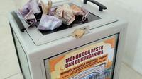 Keheningan pagi di Villa Taman Raya Raudha, Kecamatan Tampan, Kota Pekanbaru pada Rabu (21/11/2018) terusik dengan hadirnya maling kotak amal musala. (Liputan6.com/ M Syukur).