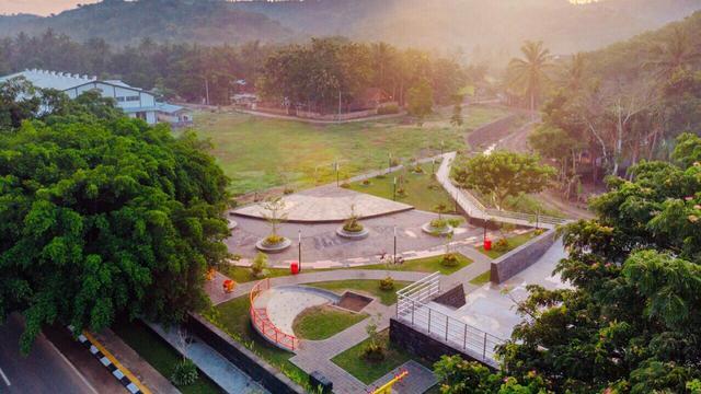 Kawasan Mandalika, Lombok, Nusa Tenggara Barat. Dok Kementerian PUPR