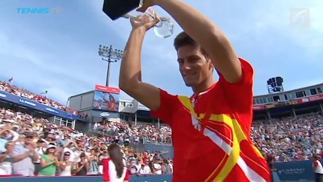 Mantan petenis ranking 1 dunia, Novak Djokovic menantang Egy Maulana Vikri untuk bermain tenis saat keduanya saling berkomentar di medsos.