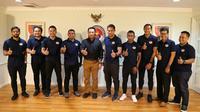 Menpora Imam Nahrawi menerima audiensi Pengurus Asosiasi Persepakbolaan Profesional Indonesia (APPI) di Jakarta.