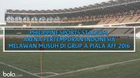Philippine Sports Stadium, Arena Pertempuran Indonesia (Bola.com/Adreanus Titus)