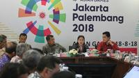 Rapat Persiapan Asian Games 2018 (Liputan6.com / Risa Kosasih)