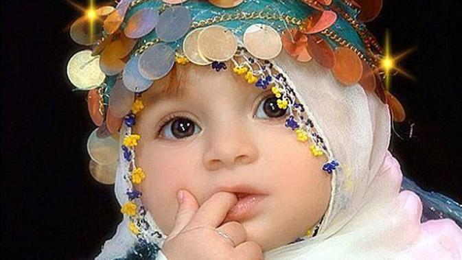 So Cute Cantiknya Bayi Bayi Imut Yang Berhijab Ini Fimela
