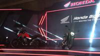 Honda CB500X dan Honda CB650R (Amal/Liputan6.com)
