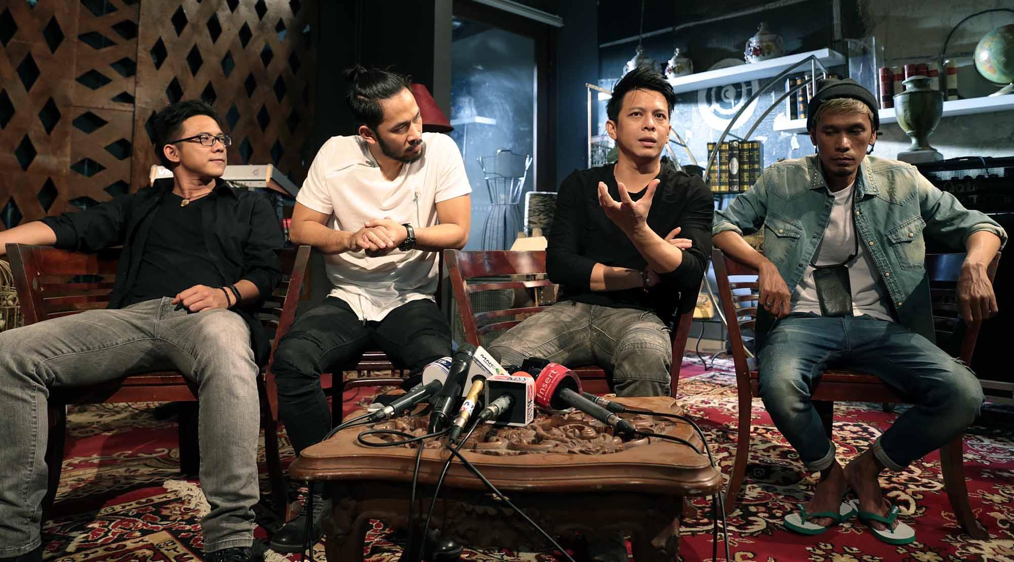 NOAH ungkap album baru punya nuansa Peterpan (Deki Prayoga/Bintang.com)