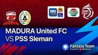 BRI LIGA 1 : Madura United vs PSS Sleman