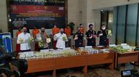 Bea Cukai dan Bareskrim Polri kembali menggagalkan penyelundupan narkotika ke Indonesia melalui perairan Krueng Peureulak, Aceh pada Kamis (21/6/2020). (Dok Bea Cukai)