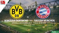 Bundesliga 2017 Borussia Dortmund Vs Bayern Munchen (Bola.com/Adreanus Titus)