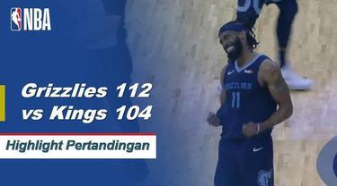 Jaren Jackson Jr. mencetak 27 poin tertinggi dalam karirnya dan Marc Gasol menambahkan 19 dengan 15 rebound untuk menjadi pemain rebound Grizzlies sepanjang masa, ketika Memphis membunuh Sacramento Kings, 112-104.