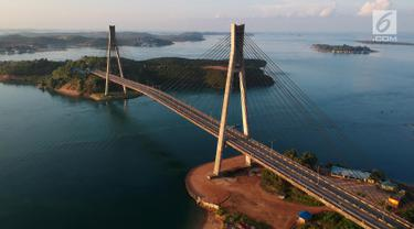 Jembatan Barelang Dari Udara