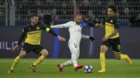 Borussia Dortmund saat menghadapi Paris Saint Germain (PSG) di Liga Champions (Tobias Schwarz / AFP)