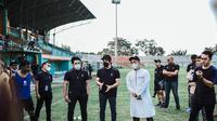 Chairman PSG Pati (AHHA PS Pati FC), Atta Halilintar dan Putra Siregar. (Instagram Atta Halilintar).