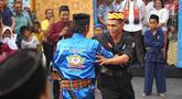 Suasana Festival Kebon Bang Jaim yang digelar di Jalan Jaksa, Jakarta, Jumat (23/8/2019). Festival Kebon Bang Jaim merupakan representasi dari kawasan Jalan Kebon Sirih, Jalan Sabang, Jalan Jaksa dan Jalan Wahid Hasyim. (Liputan6.com/Immanuel Antonius)