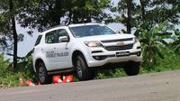 All new Chevrolet Trailblazer menggunakan mesin 2.5 liter diesel. (Herdi/Liputan6.com)