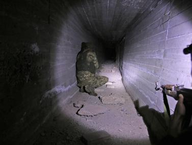 Terowongan Pasukan Kurdi Ditemukan di Perbatasan Suriah-Turki