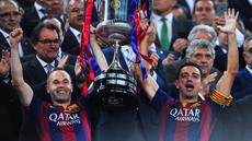 Barcelona berhasil meraih trofi Copa del Rey yang ke-27 setelah memetik kemenangan 3-1 atas Athletic Bilbao di partai final yang dihelat di Camp Nou, Minggu (31/5) dini hari WIB.